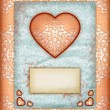 Royalty-Free Stock Photo: Valentine day Love Cards, Vintage Love Notes