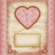 Valentine day Love Cards, Vintage Love Notes — Stock Photo #8939307