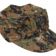 Us marine camouflage cap — Stock Photo