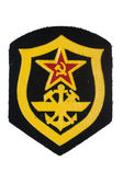 Soviet army corps of navy engineers badge isolated — Stock Photo