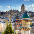 Jerusalem Rooftops — Stock Photo