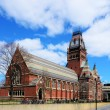 Harvard university Memorial Hall — Stock Photo