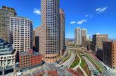 Boston High Rises — Stock Photo