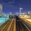 Railroad Lines in the City — Stock Photo #10357794