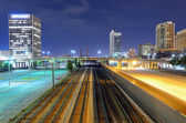 Railroad Lines in the City — Stock Photo