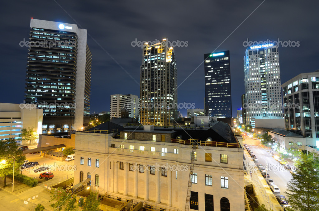 Metropolitan Skyline of downtown Birmingham, Alabama, USA. — Stock Photo #10357815