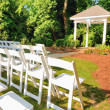 Wedding pavilion - Foto de Stock  