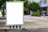 Blank Sign — Stock Photo