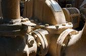 Máquinas antigas — Fotografia Stock