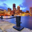 downtown boston — Stock Photo