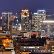 Downtown Birmingham Skyline — Stock Photo