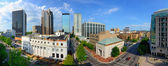 Downtown Birmingham Alabama — Stock Photo