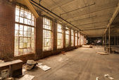 Abandoned Factory Building — Stock Photo