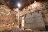 Alte verlassene fabrik — Stockfoto
