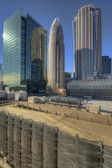 Skyline of Uptown Charlotte — Stock Photo