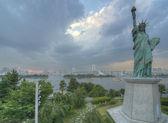 Tokyo's Statue of Liberty — Stock Photo