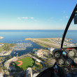 St. Pete Aerial View from a Helicopter — Stock Photo