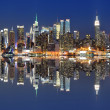 New York City Skyline - Stock Photo