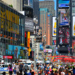 Times Square Crowds — Stock Photo #8616859