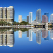 Tampa Bay Skyline — Stock Photo
