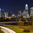 Charlotte Skyline — Stock Photo