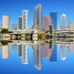 Tampa Bay Skyline — Stock Photo #8742589