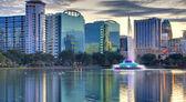 Orlando panorama — Stock fotografie