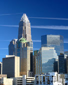 Uptown charlotte — Foto Stock