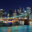 Lower Manhattan Skyline — Stock Photo
