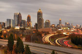 Atlanta Skyline — Stock Photo