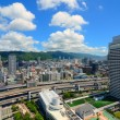 Stock Photo: Skyline of Kobe, Japan