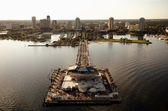 St Petersburg Aerial View — Stock Photo