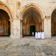 Pilgrims at Al Aqsa — Stock Photo #9211221