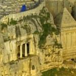 Tomb of Zechariah and Tomb of Benei Hezir — Stock Photo #9254329
