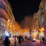 Ben Yehuda Street — Stock Photo