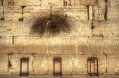Muro de las lamentaciones — Foto de Stock