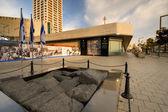 Ytizak Rabin Memorial — Stock Photo