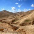 Desert Landscape in the Judaean Hills - Stock Photo