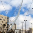 Jerusalem Chords Bridge - Stock Photo