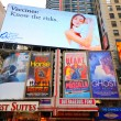 Times Square Billboards — Foto de Stock