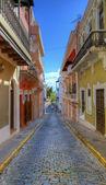Alley in San Juan — Stock Photo