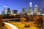 Uptown panoramę — Zdjęcie stockowe