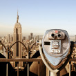 Landmarks in New York City - Stock Photo