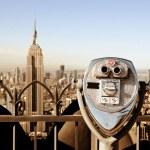 Landmarks in New York City — Stock Photo