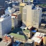 Office buildings in Downtown Atlanta — Stock Photo