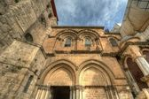Exterior of Church of the Holy Sepulchre — Stockfoto