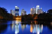 Atlanta panorama — Stock fotografie