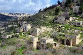 Terk edilmiş arap köyü — Stok fotoğraf