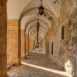 Arches on the Temple Mount — Stock Photo