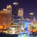 Downtown Atlanta — Stock Photo #9802044